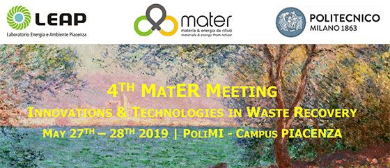 4th Meeting on Innovations & Technologies in Waste Recovery